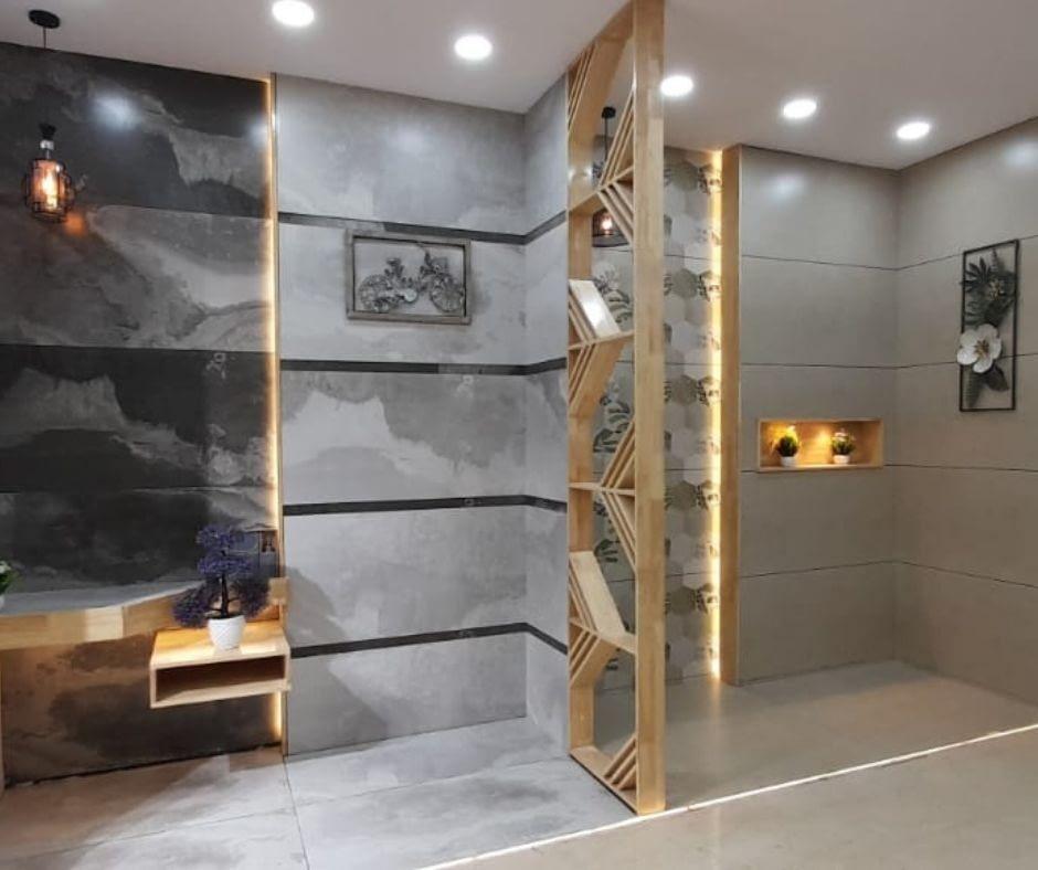 Cerajot Bathtoom Mockup tiles Design image